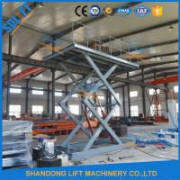 Buy cheap 5M Home garage Car Lifting Equipment , Scissor Car Parking Lifts with CE TUV from wholesalers