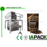 Wholesale Automatic Coffee Beans Packing Machine Stand Up Pouch Zipper Filler Sealer from china suppliers