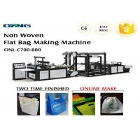 Wholesale Computerized Fully Automatic Non Woven Bag Making Machine 40-100pcs / min from china suppliers