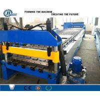Wholesale Single Decking Roof Panel Roll Forming Machine , Metal Roof Sheet Roll Former Machine from china suppliers