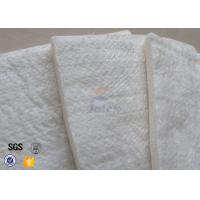 Wholesale 25mm 1200℃ White Fiberglass Needle Mat High Silica Heat Insulation Blanket from china suppliers