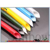 Wholesale Self - Extinguishing Silicone Fiberglass Sleeving For Micro - Wave Oven from china suppliers