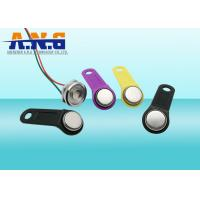 Wholesale TM1990A-F5 Unique UID iButton Electronic Key with Magnetic Ring , Waterproof from china suppliers