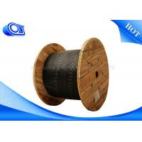 Wholesale Black Simplex / Duplex Outdoor Fiber Optic Cable 1~12 Cores For Communication from china suppliers