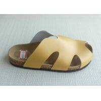 Buy cheap Peep Toe Men Cork Sandals , Yellow 39-46 Size Casual Summer from wholesalers