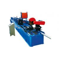 Wholesale Drain Rain Round Downspout Roll Forming Machine 0.4 - 0.7mm Thickness With Elbow from china suppliers