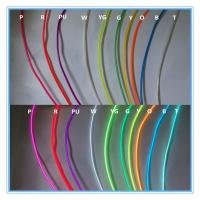 Quality High brightness multi-color el wire,neon cable, light tube for sale
