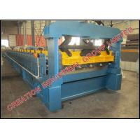 Wholesale Aluminium IT4 Roof Panel Roll Forming Machine Roof Tile Machine 220V / 380V from china suppliers