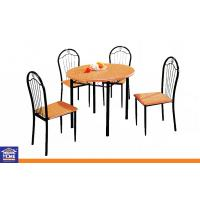 Wholesale Round Dinning Table and Chairs Set , Dining Room Tables & Chairs for Office or Hotel from china suppliers