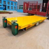 Buy cheap storage battery powered steel pipes 30ton handling transporter with low price from wholesalers