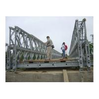 Wholesale Customized Timber Deck Stability Steel Bailey Bridge / Portable Steel Bridge CB100 , CB200 from china suppliers