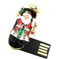 Wholesale Santa Claus Shape Jewelry USB Flash Drive, Promotional Diamond USB Drives from china suppliers