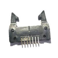 Wholesale Long Latch 2.54 Mm Pitch Pin Header , PBT Straight 14 Pin Header Connectors from china suppliers