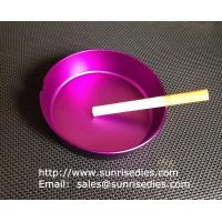 Wholesale Multi-colored anodised aluminum smoking ashtray wholesale, China metal gift factory, from china suppliers