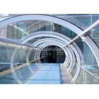 Wholesale Green House Tempered / Laminated Safety Glass , Curved  Sheet Glass Panels from china suppliers