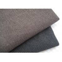Wholesale Stylish Brown / Black Knit Denim Fabric For Sportswear / Suit Width 180cm from china suppliers