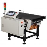 Electric Conveyor Automatic Checkweigher Equipment High Accuracy