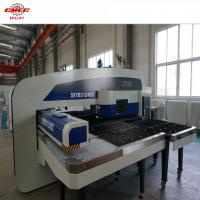 Wholesale 300KN CNC Punching Machine , 32 Working Station CNC Hole Hydralic Punch Press from china suppliers