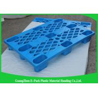 Quality Single Faced Plastic Export Pallets , 3 Skids Industrial Plastic Pallets For Food Industry for sale