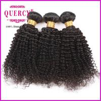 Buy cheap 8A 100% Unprocessed Virgin Remy Kinky Curl Brazilian Human Hair weave from wholesalers