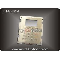 Wholesale IP65 Stainless Steel 20 Button Gas Station Kiosk Keypad In 4x5 Matrix from china suppliers