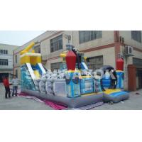 Wholesale Digital Printed Robot Inflatable Fun City / Giant Inflatable Toy For Promotion from china suppliers