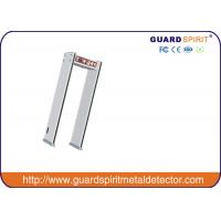 Wholesale Program Self Diagnostic 6 Zones Pass Through Metal Detector With Sound Alarm from china suppliers