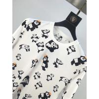 Wholesale Best quality Unisex  100% Cotton T Shirt Women Quick-drying Full Panda Printing T-shirt from china suppliers