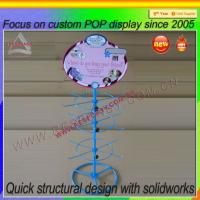 Wholesale Small counter metal hook display stands from china suppliers