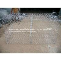 Wholesale 80*100mm high zinc coated gabion mesh box from china suppliers