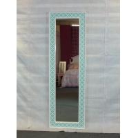 Wholesale Light blue framed full length floor  mirror from china suppliers
