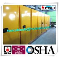 Wholesale Vented Flammable Safety Cabinets , Fireproof Chemical Storage Cupboards 22 GAL from china suppliers