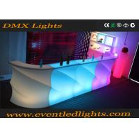 Wholesale Plastic Rechargeable nightclub bar furniture Illuminated Outdoor Indoor from china suppliers
