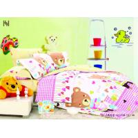 Wholesale Cartoon 100 % Cotton Designer Full Size Kids Bed Sheet Sets for Girls from china suppliers