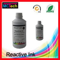 Wholesale digital textile printing for silk/wool/nylon reactive ink for Textile Printer Roland/Mutoh/Mimaki printers from china suppliers