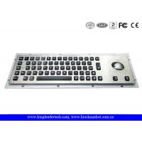 Wholesale 65 Full travel backlit keys Illuminated Metal Keyboard , industrial computer keyboard from china suppliers