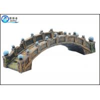Wholesale Old Medium Bridge Type Aquarium Resin Ornaments Durable For Hotel Decorations from china suppliers