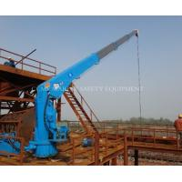 Wholesale Telescopic Boom Hydraulic Marine Crane 5t 8t from china suppliers