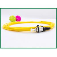 Wholesale FC / UPC Pigtail Single Mode Fiber Optic Patch Cord , Yellow PVC Jacket from china suppliers
