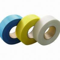 Wholesale Self-adhesive Fiberglass Tape with Alkali Resistance, Can be Installed Easily from china suppliers