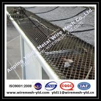 Wholesale PVC coated aluminum expanded metal gutter guard,gutter mesh from china suppliers