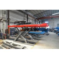 Wholesale Runway 4.3m Hydraulic Car Lift / Alignment Scissor Lift Second Jack from china suppliers