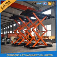 Wholesale Hydraulic Scissor Car Lift For Underground Parking from china suppliers