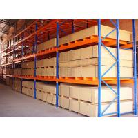 Wholesale Customized Adjustable Powder Coated Steel Warehouse SelectivePalletRack from china suppliers