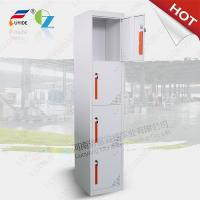 Quality Single row Four door steel locker FYD-G004,H1850XW380XD450mm,Electrostatic Powerer coating for sale