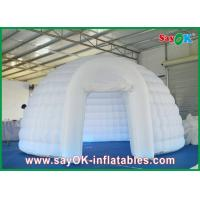 Quality Dome Inflatable Air Tent Strong Fire-proof Cloth With Led Lights for sale