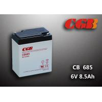Quality 6V 8.5AH CB685 VRLA AGM Battery , Black Retardant Medical Equipment Battery for sale