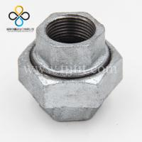 Wholesale 340 Hot dip galvanized malleable cast iron pipe fitting hexagon unions conical joint iron to iron seat  made in china from china suppliers