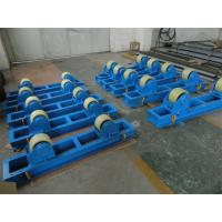 Wholesale 2T Capacity Bolt Adjustment Pipe Welding Rollers with Rubber / Steel / Polyurethane Rollers from china suppliers