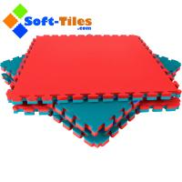 Wholesale Fitness Foam Floor 1m*1m wtih double colour and high density EVA foam from china suppliers